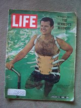 1965 LIFE Magazine (Feature Article: Ted Kennedy) in Stuttgart, GE