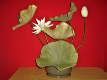 Large Faux Lotus & Lily Pad Arrangements in Moody AFB, Georgia
