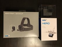 GoPro HERO w/ head strap NIB in Lockport, Illinois