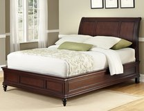 King size Sleigh Bed (New) in Leesville, Louisiana
