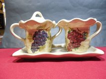 "Vintage Sugar and Creamer set - ""Cabernet"" Hand Painted Collection in Yorkville, Illinois"