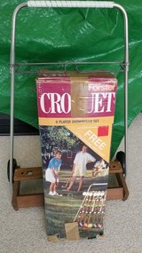 Croquet  Set in St. Charles, Illinois