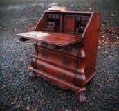 one of a kind secretary desk with claw feet in Spangdahlem, Germany