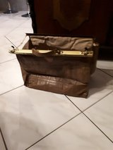 """very old leather """"doctor""""bag in Ramstein, Germany"""