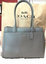 Coach Tote - NEW With Tags - Heather Grey crossgrain leather in Kingwood, Texas