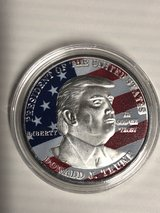 Trump Commemorative Coin in Fort Knox, Kentucky