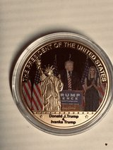 Trump & Ivavka Commemorative Coin in Fort Knox, Kentucky