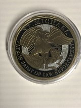 St Michael Patron Saint of Law Enforcement Commemorative Coin in Fort Knox, Kentucky