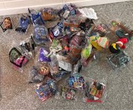 46 McDonald's toys almost all in bags in Brookfield, Wisconsin
