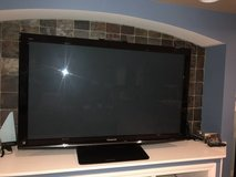 "Panasonic 58"" Plasma TV and Blu-Ray Player in Yorkville, Illinois"