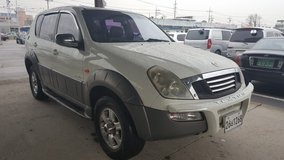 4X4!! 2003 SSANGYONG REXTON-AUTO-7 SEATERS-GOOD RUNNING COND.-133K MILES in Osan AB, South Korea