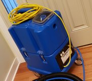 NaceCare TP8X Tempest carpet extractor 8025152 canister 8 gallon 20 foot hose kit 130psi pump in Bolingbrook, Illinois