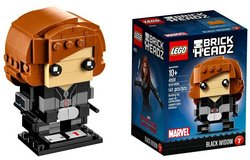 BNIB: Lego Brick Headz: Black Widow in Fort Campbell, Kentucky