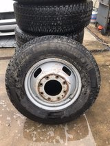 6x 245/75r16 lt tires and rims in Wilmington, North Carolina