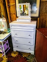 Signed Ethan Allen mirror and Dresser antique in Cherry Point, North Carolina