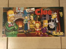 The Simpsons Clue Board Game EUC Complete in Fairfield, California