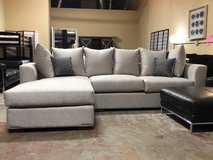 "(@) INVENTORY SALE! USA TOP QUALITY ""COMFY"" SOFA CHAISE SECTIONAL WITH PILLOWS+ WARRANTY:) in Camp Pendleton, California"