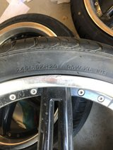 4 tires and rims in 29 Palms, California