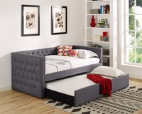 (@) INVENTORY SALE! LINEN UPSCALE SOFA DAYBED W/TRUNDLE! in Camp Pendleton, California