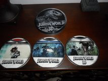 3DJurrassic World in Collector Tin includes: Jurrassic World in 3D, Blu-ray DVD, & regular DVD in Cleveland, Texas