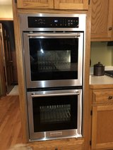 double oven / like new used once in Plainfield, Illinois