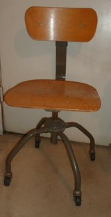 antique sewing chair by singer in 29 Palms, California