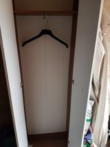 Nice Tall White Foyer Size Clothes Cabinet in Ramstein, Germany
