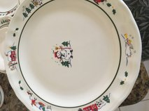Pfaltzgraff Snow Village giant set 20 dinner plates and so much more Christmas China in Kingwood, Texas