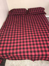 Queen size bed with box spring in Fort Drum, New York