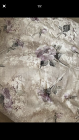 King size bedding  Comforter with sham in Chicago, Illinois