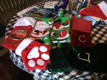 Holiday stockings in Naperville, Illinois