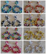 8 pairs NEW Women's Pierced EARRINGS in Fairfield, California