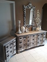 Rustic Dresser and Night Stand in Kingwood, Texas