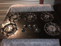 36 gas 5 burner cooktop in The Woodlands, Texas