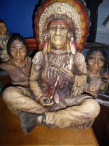 Indian Collection, Big Chief Statue in Cleveland, Texas