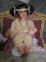Indian girl doll in Cleveland, Texas