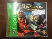 Ps1 The Legend of Dragoon in Camp Lejeune, North Carolina