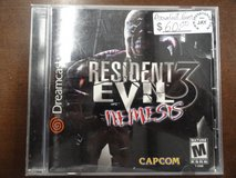 Sega Dreamcast Resident Evil 3 Nemesis in Camp Lejeune, North Carolina