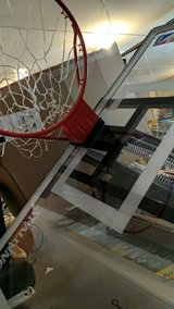 like new spalding basketball goal with base in Spring, Texas