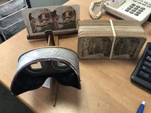 Antique Stereoscope Viewer in Bolingbrook, Illinois