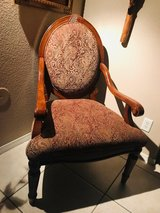 antique chair in Fort Bliss, Texas