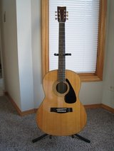 Vintage Yamaha FG-325 Acoustic Guitar - Rare in Naperville, Illinois