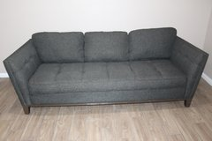 Dark gray sofa- Tufted in Spring, Texas