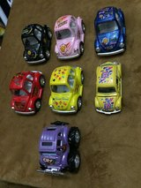 Beetle cars with pull n go action in Conroe, Texas
