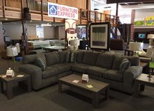 Awesome Two Piece Stationary Sectional in Rolla, Missouri