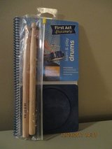 First Act Discovery Learn & Play Drums includes  Drum Pad, Drumsticks- Rare Find in Joliet, Illinois