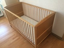 Baby bed with high quality mattress in Stuttgart, GE