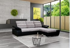 Venice Sectional with Bed  - Storage Chaise also on other side (available in different colors) -... in Spangdahlem, Germany