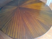 Round Swirling Wood Coffee Table in Fort Belvoir, Virginia