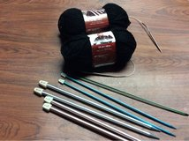 Knitting needles w/ Yarn in Algonquin, Illinois
